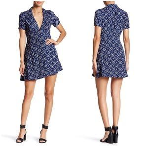 Free People Melody Medallion Print Mini Dress 8